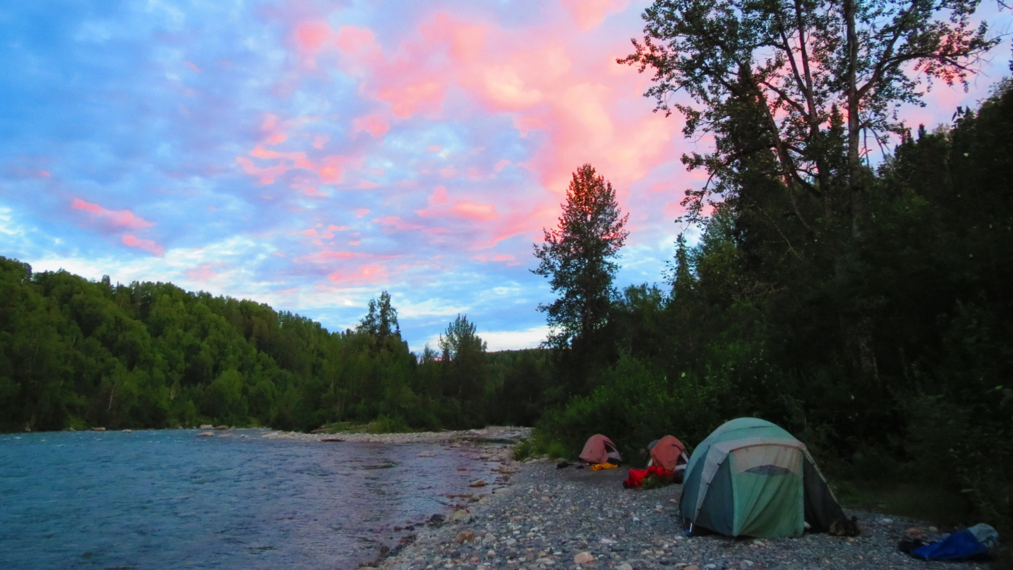 Camping on an Alaska Fishing Trip with FishHound Expeditions
