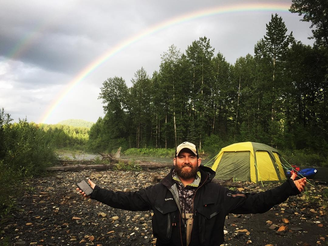 Its always rainbows on our multi day trips!