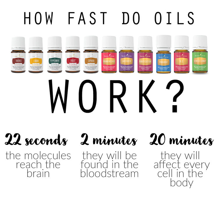 Christina Foret. How Fast Do Oils Work?