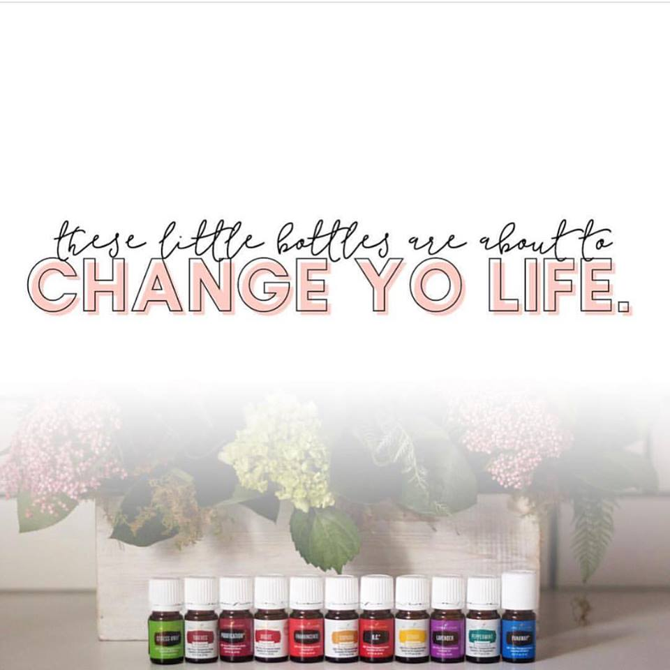 Young Living Starter Kit. These oils are about to change your life.