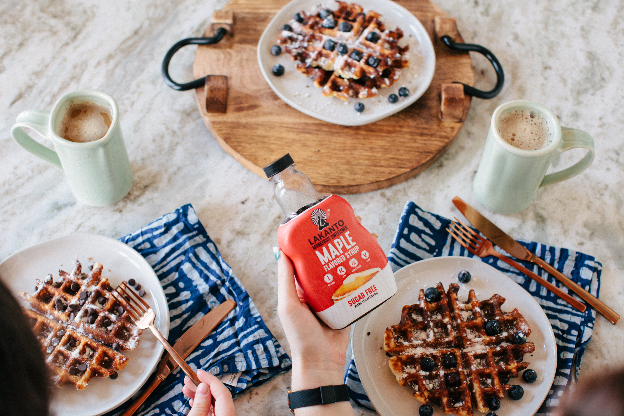 Keto Waffles Recipe by Christina Forêt