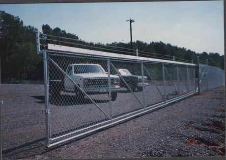 Round Frame Cantilever Slide Gate Track System