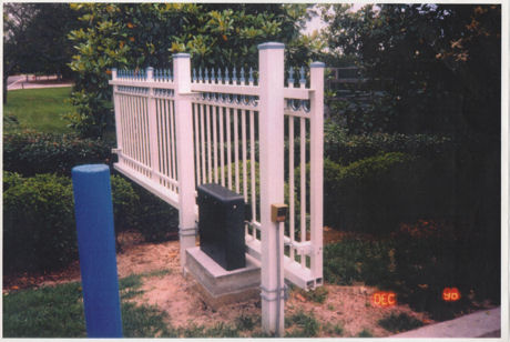 Cantilever Rail Combo Slide Gate Track System
