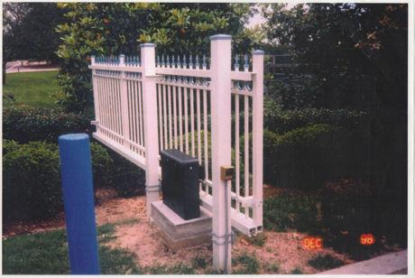 Cantilever Rail Combo Slide Gate Track System