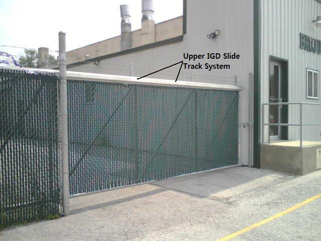Single Single Cantilever Gate Track System