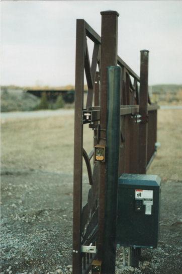 End View Slide Cantilever Gate Track System