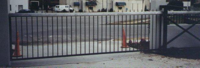 Square Frame Cantilever Slide Gate Track System