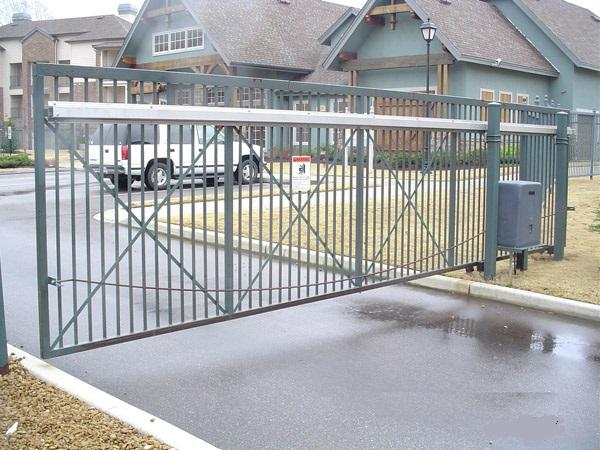 Cantilever Aluminum Slide Gate Track System