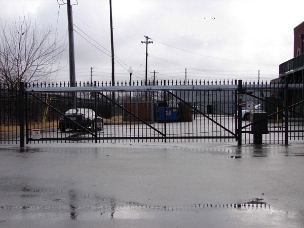 Cantilever Slide Gate Track