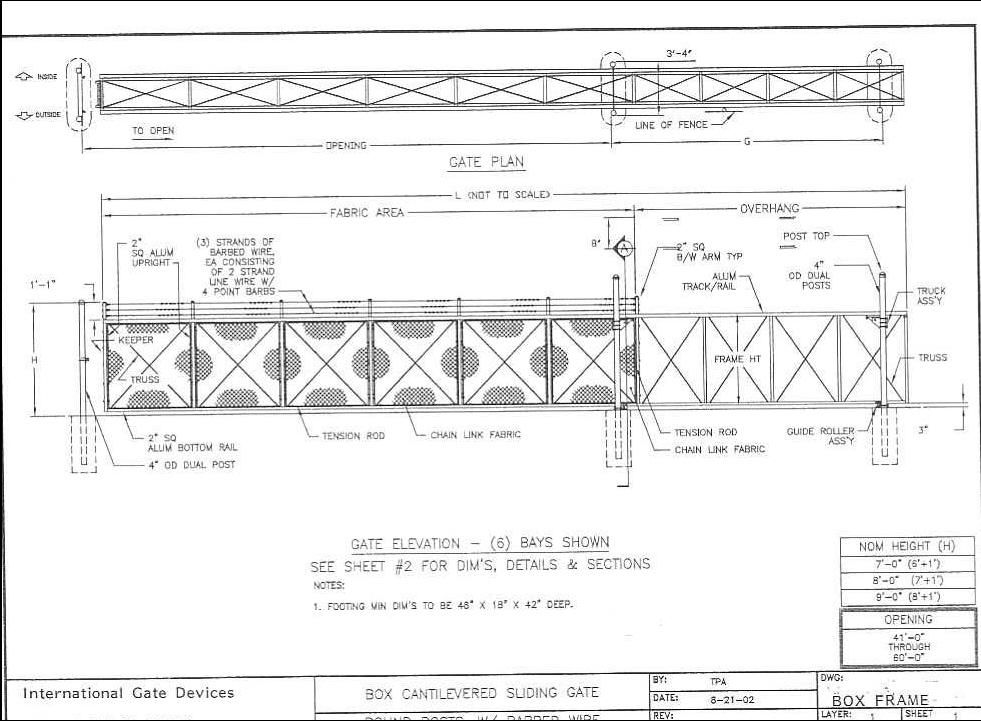 Box Frame Cantilever Gate Elevation & Plan View jpg.jpg