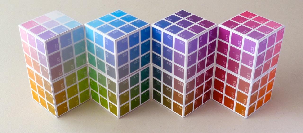 4 sets of 2 Cubes each