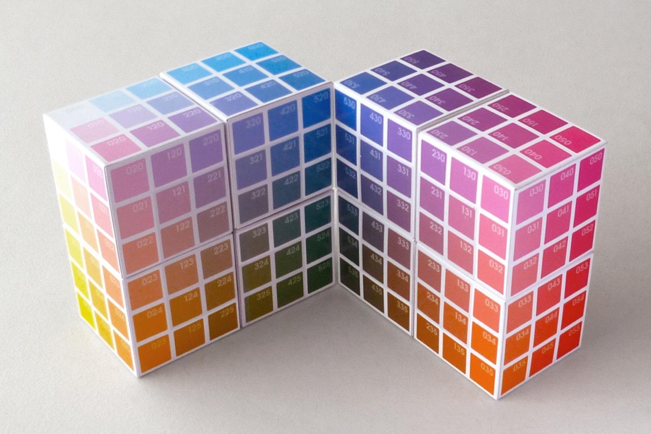 2 sets of 4 Cubes each