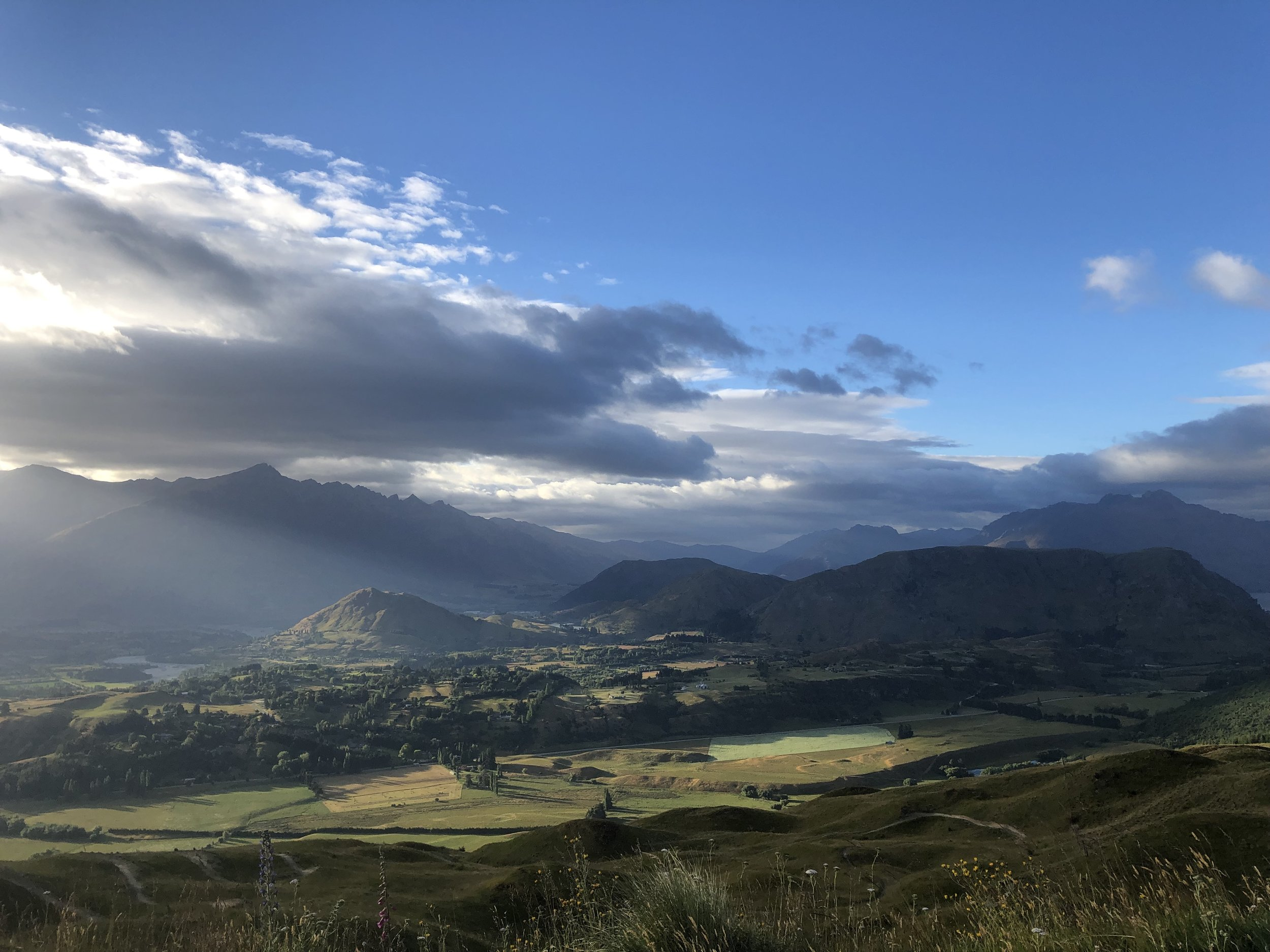 Snap taken from the Coronet Peak Road, on the 4th January 2019, mid-reflections.