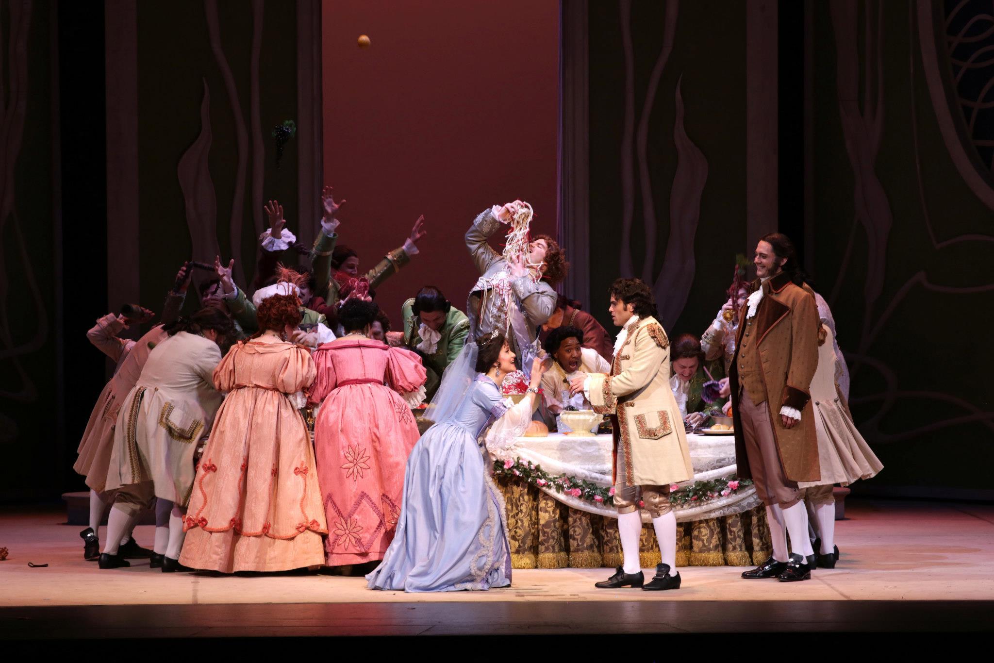 La Cenerentola , Palm Beach Opera.