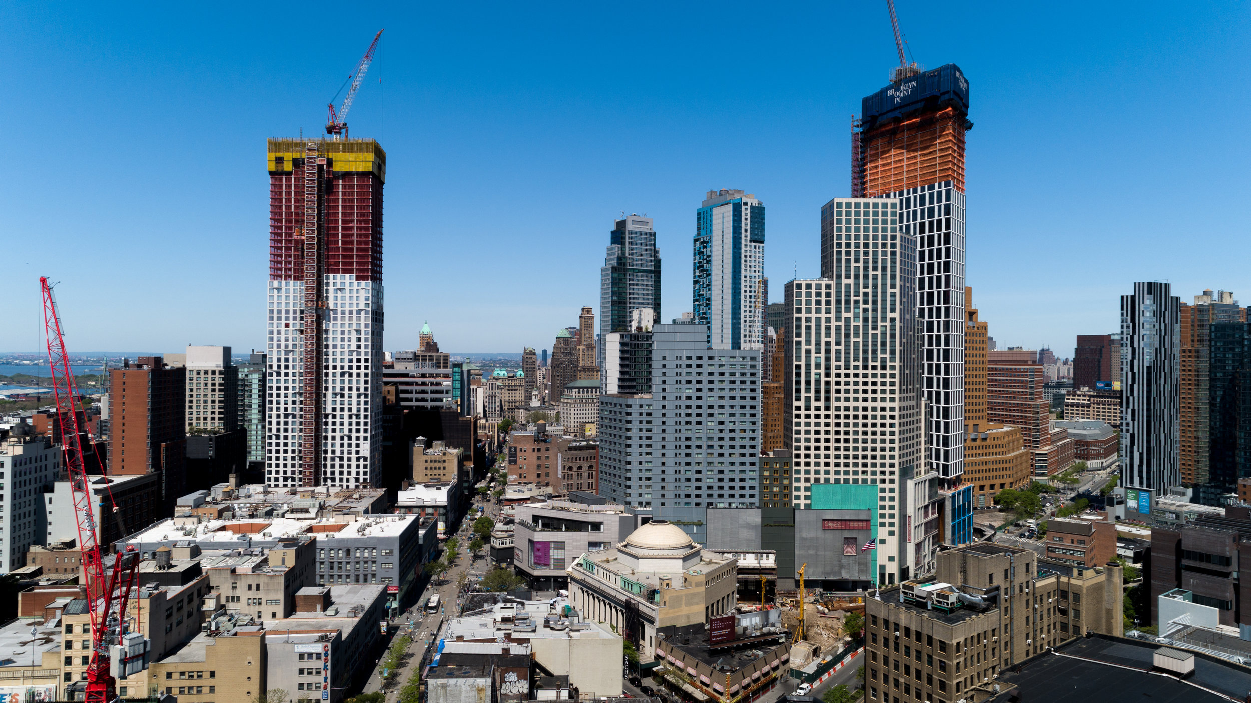 Downtown Brooklyn for Architectural Renderings