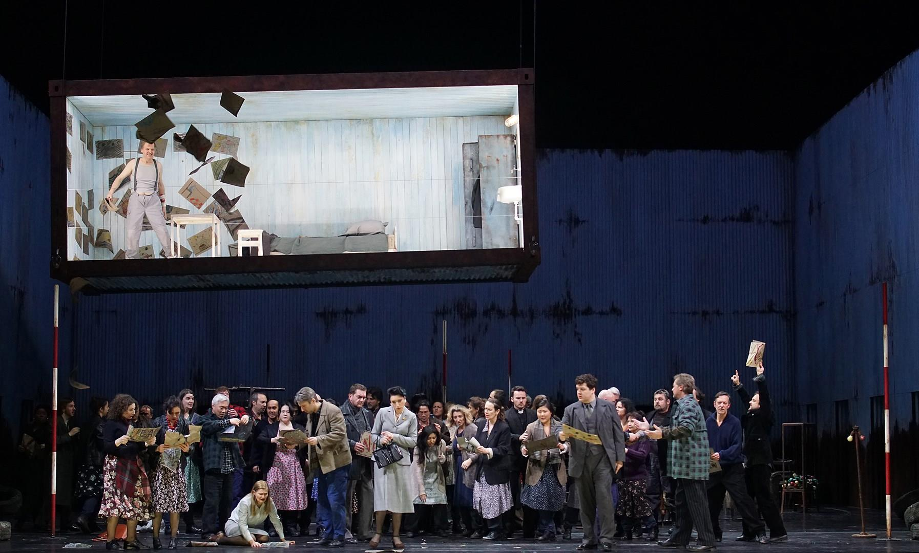 Peter Grimes - Wiederaufnahme - Benjamin Britten - Feb 27 bis Juni 17