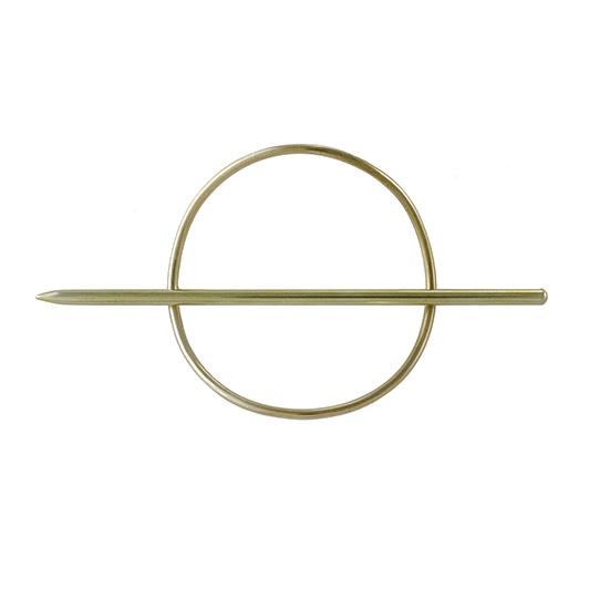 Ellen Mote Jewelry Mini Circle Hair Pin