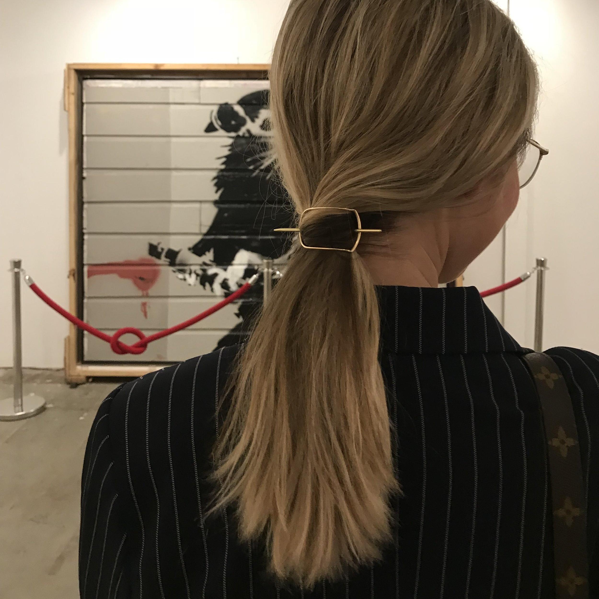 Ellen Mote Jewelry Ziph Hair Pin