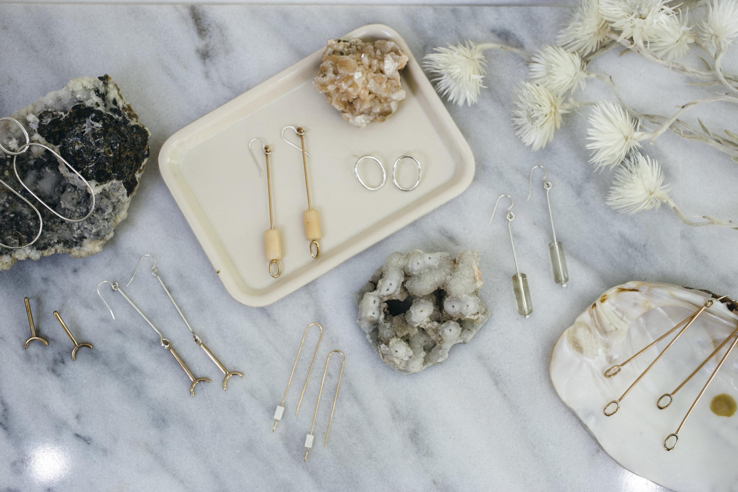Ellen Mote Jewelry, Santo Collection