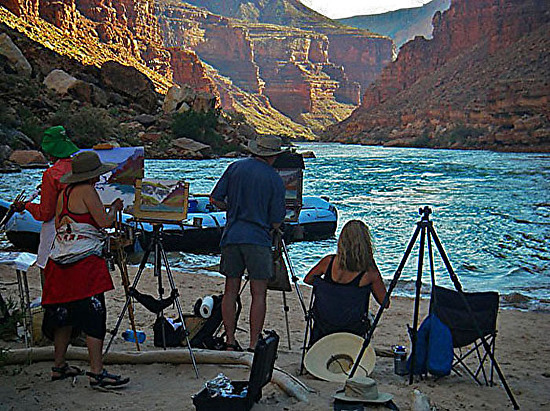 Grand Canyon Plein Air Painters Cody Delong.jpg