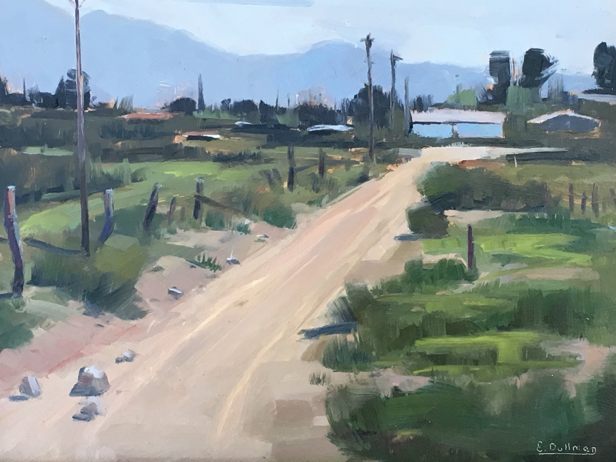 "Best of Show :  Ernie Dollman  ""Country Road"""