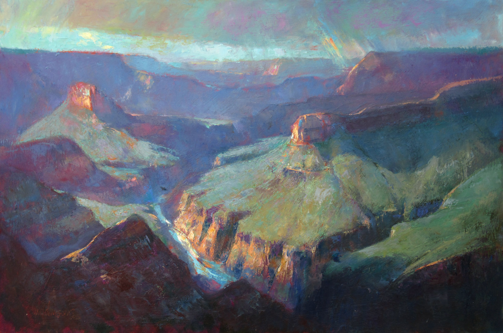 After the Rains - Michael Chesley Johnson