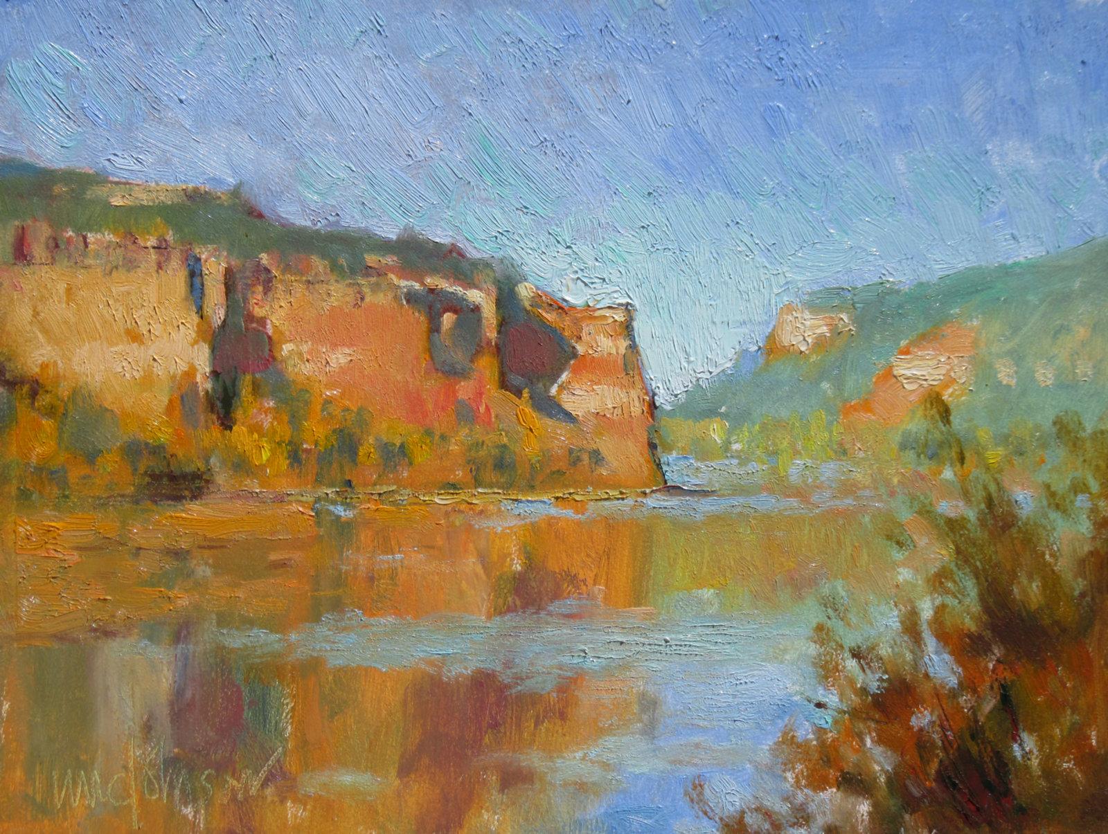 Secret Cliffs - Michael Chesley Johnson