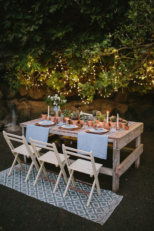 cactus wedding decoration
