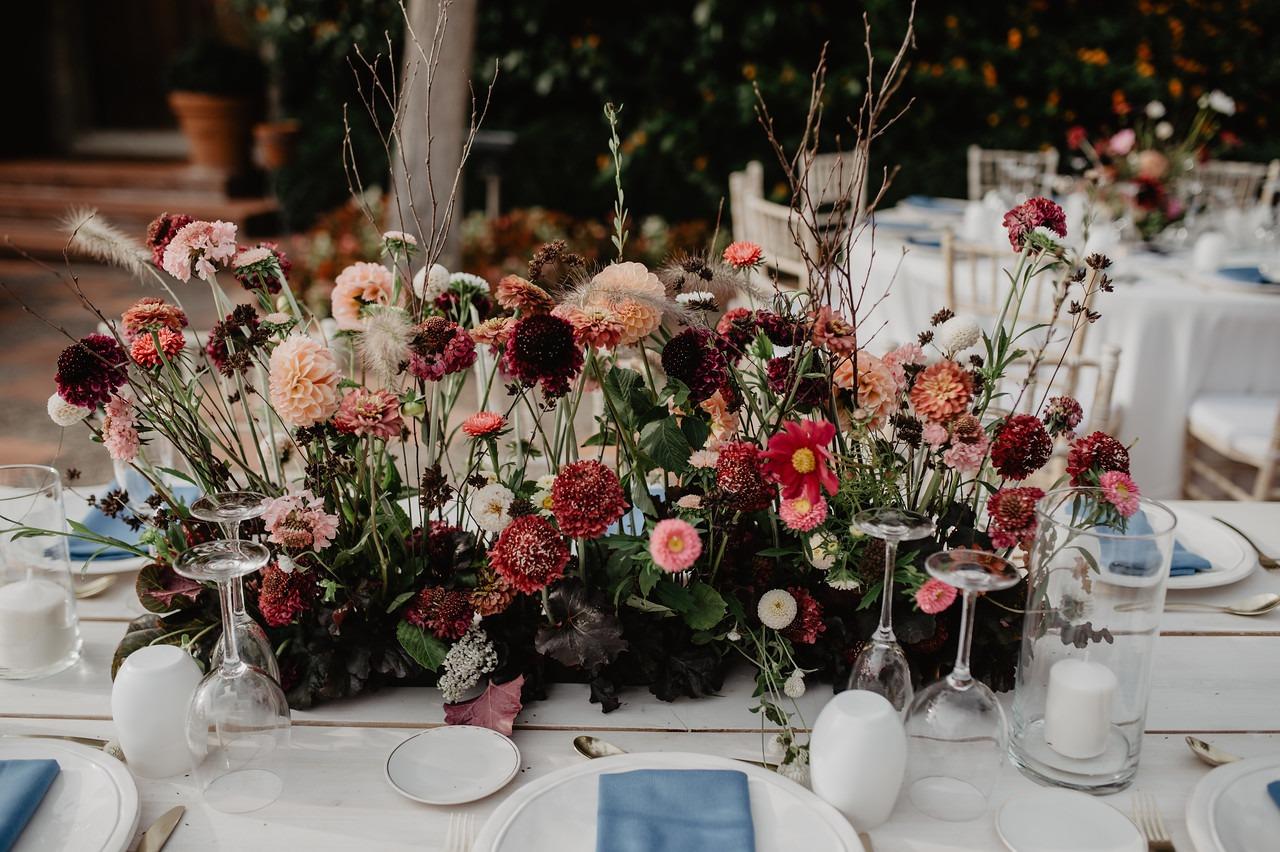 decoracion cena boda mas sant llei