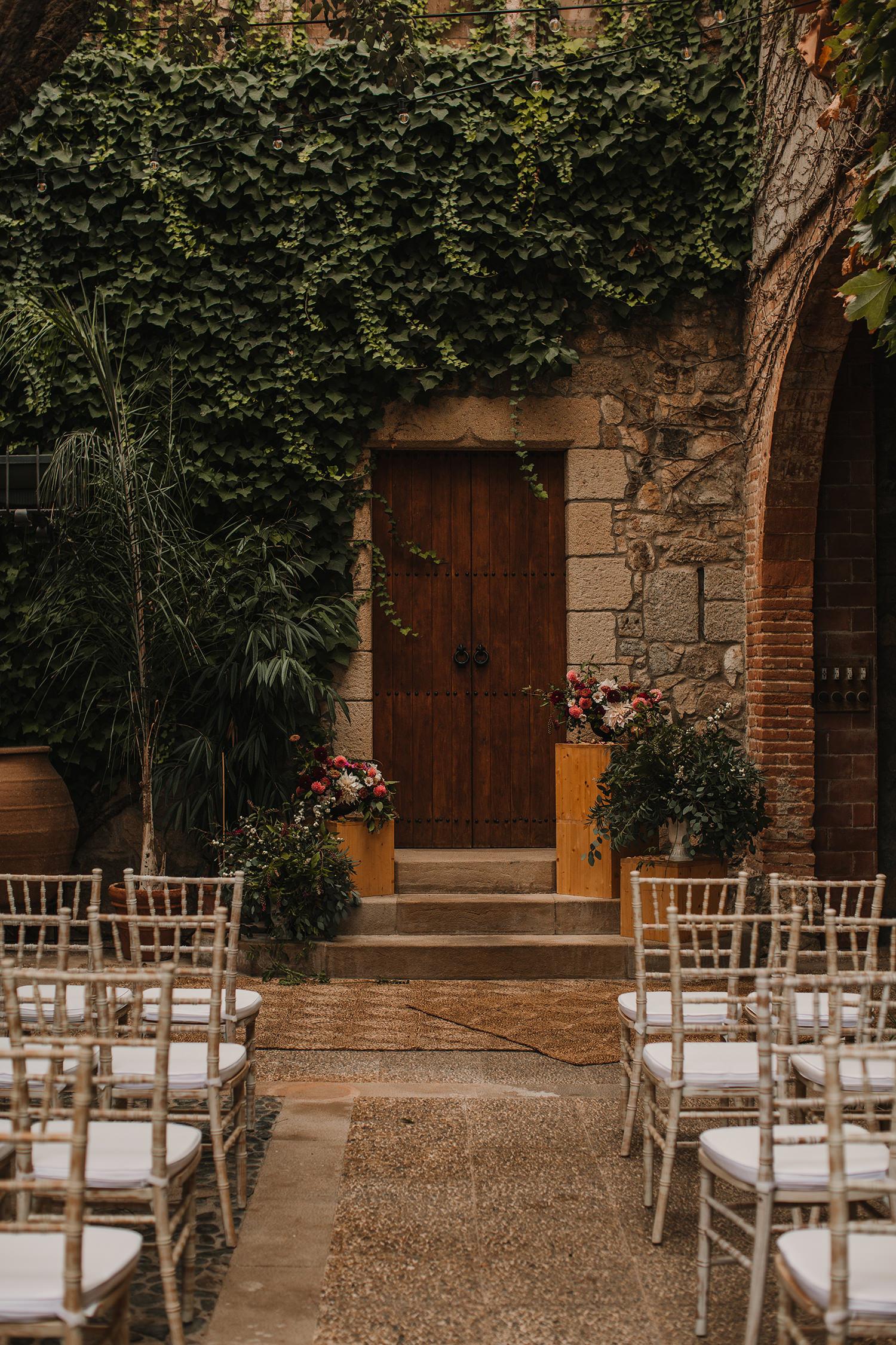 decoracion floral boda mas sant llei