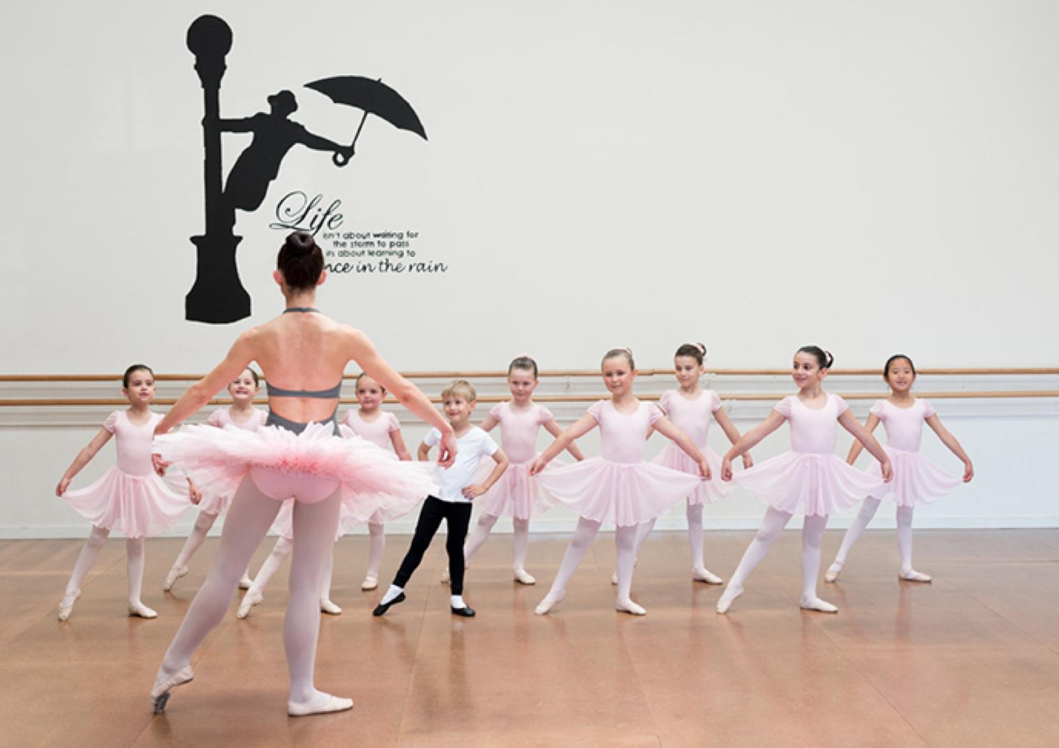 Classical ballet Cecchetti Dance classes Melbourne Mathis Dance Studios Sammie Barker
