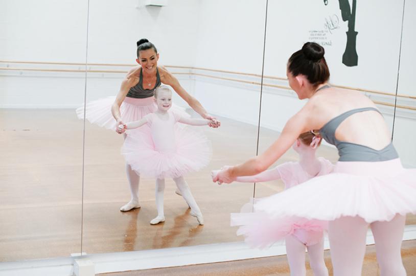Classical ballet Cecchetti Dance classes Melbourne Mathis Dance Studios