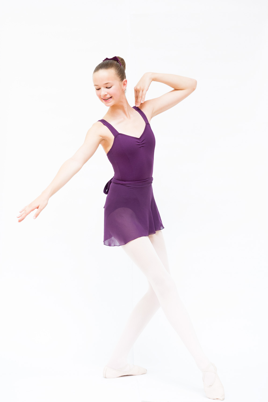 Grade 5 and 6 Mathis Dance Studios uniform