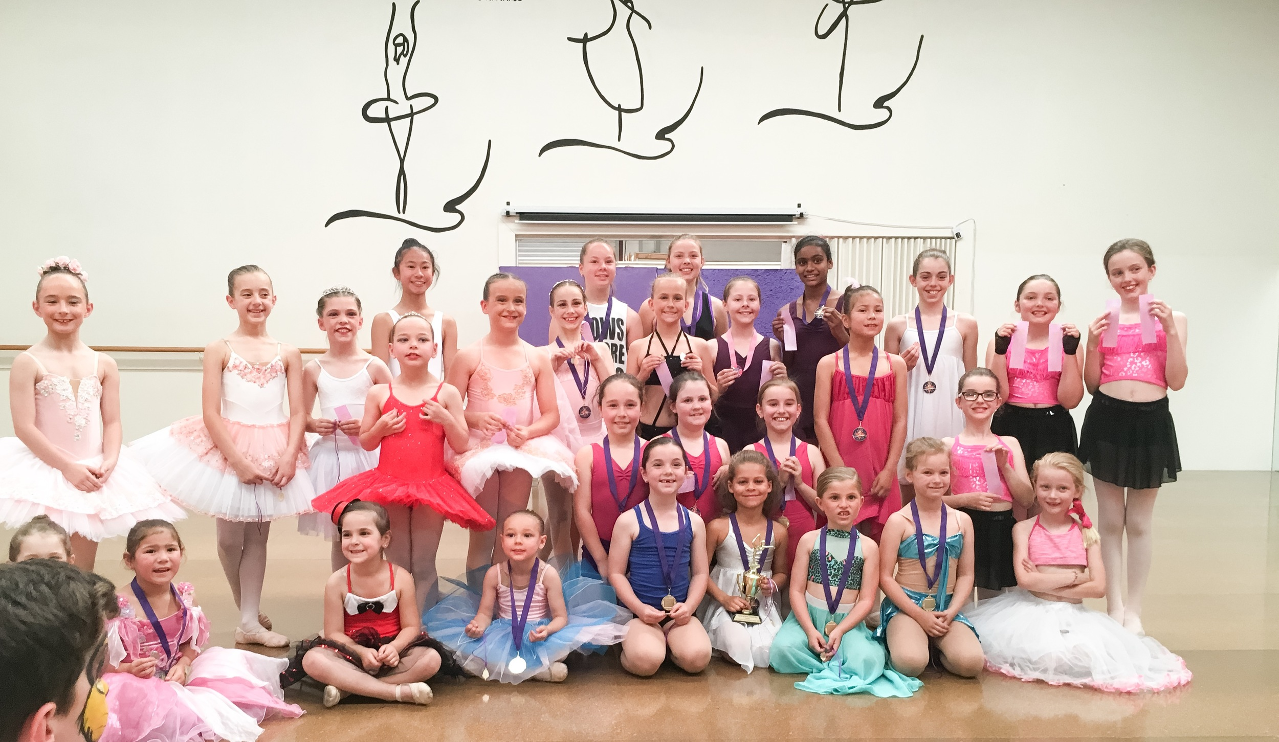 Mathis Dance Studios choreography competition Melbourne