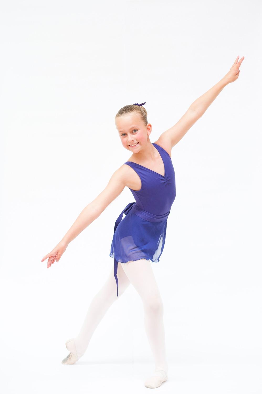 Grade 3 and 4 Mathis Dance Studios uniform