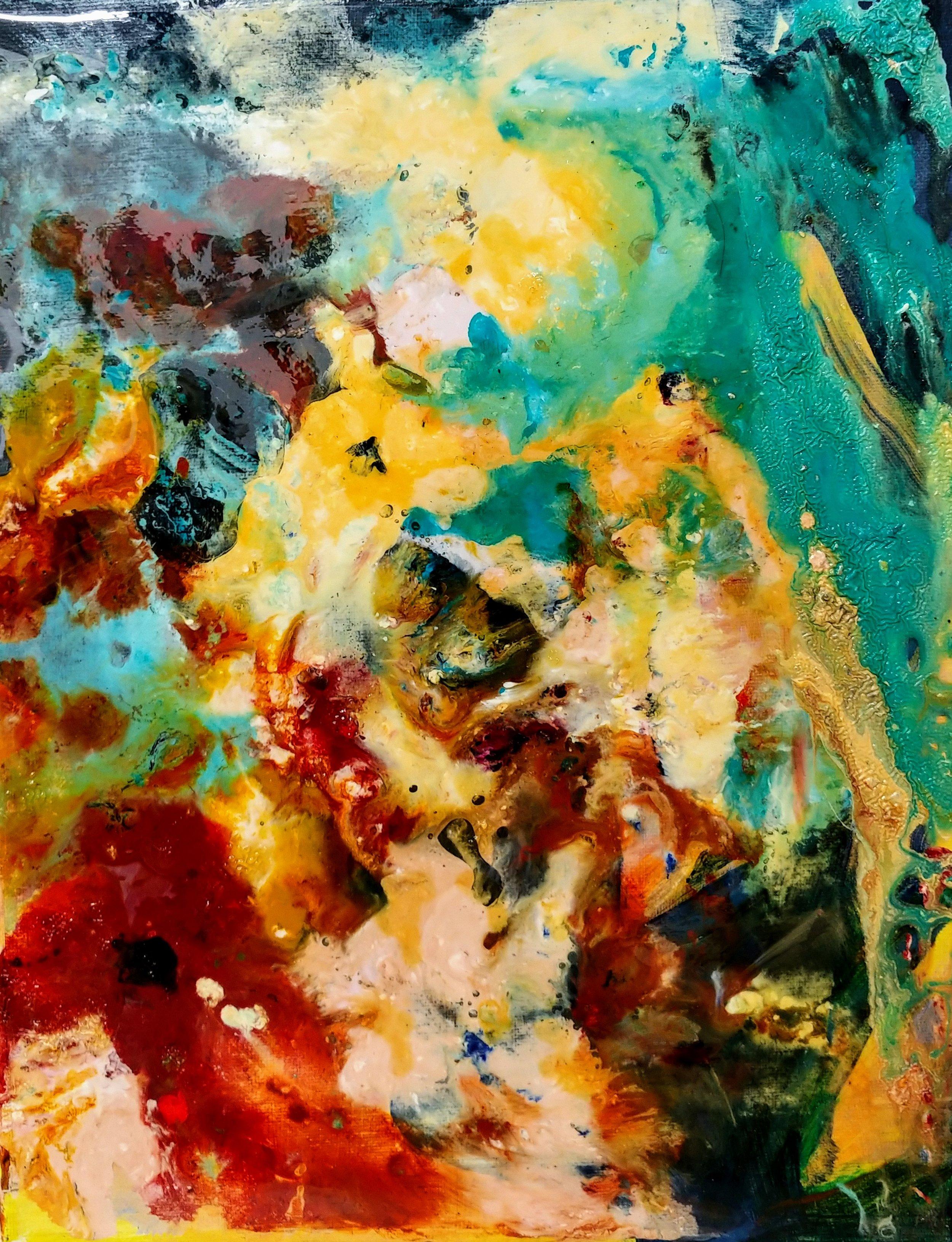 Source Mock Resin & Oil 14in x 11in