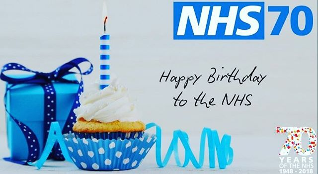 Happy birthday to the NHS, still going strong and refusing to let up 💪 keep on healing the sick, maintaining best standards of practice and offering equal healthcare access to all 💉💊🎁🎊🎉🎈