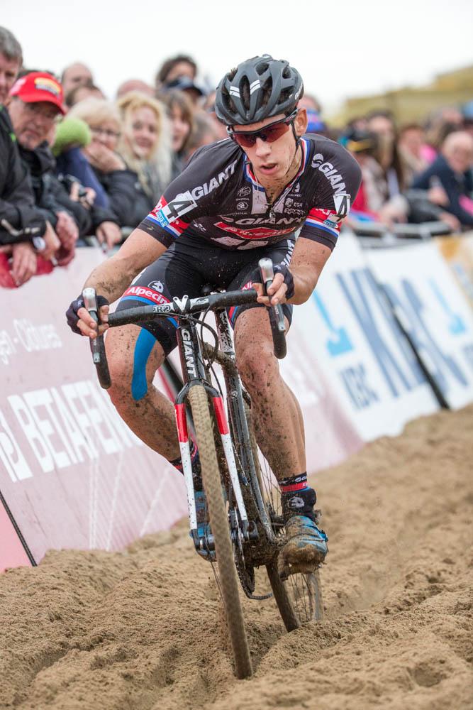 Lars van der Haar, whose balance and agility are formidable