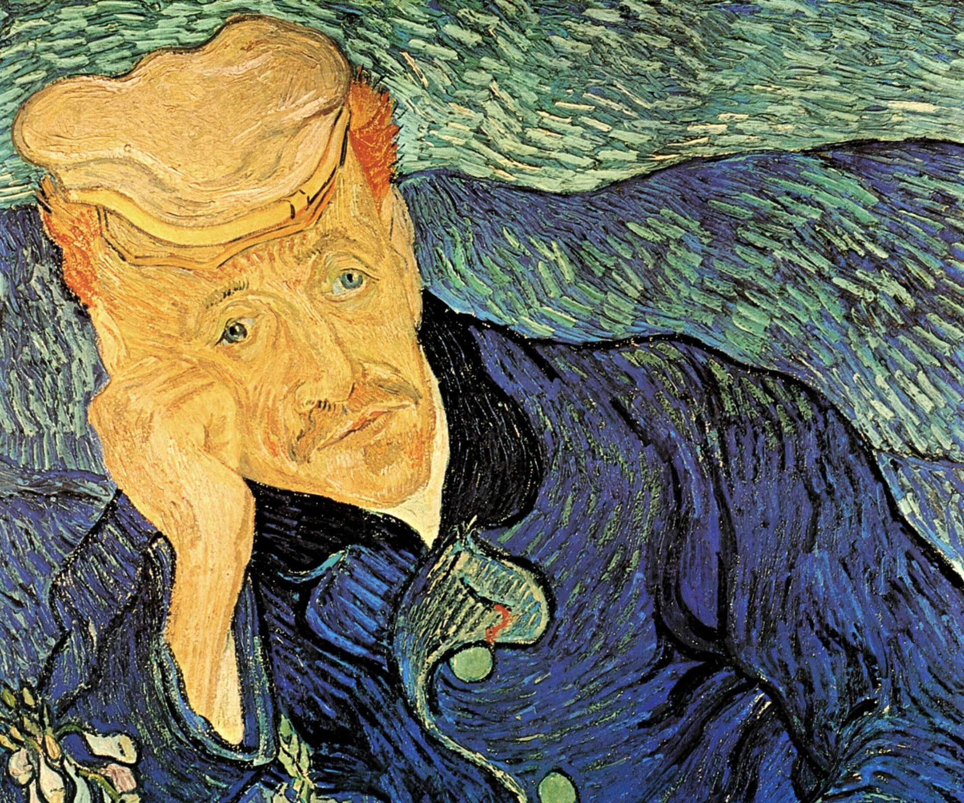 Apparently in person the melancholy speaks to viewers so clearly, a recent owner has said he intends to have this original van Gogh work cremated with him upon his death. What. A. Tool.