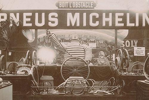 The original Michelin Man - the stuff of children's nightmares.