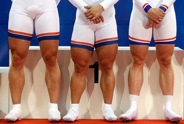 I no longer need legs like this to get home via the hills on my bike ...