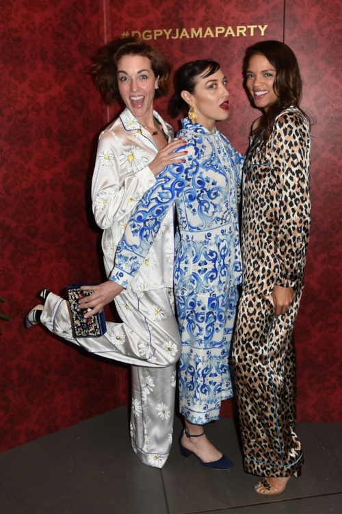 When the fashion industry encourages us to leave the house in our pyjamas, they're thinking more like this ...