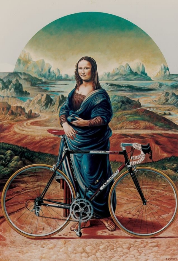 well, obviously she rides a Colnago ...