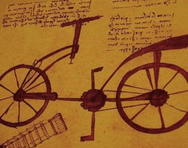 I think not a single cyclist of the time didn't just instantly know in their heart that da Vinci had ridden a bicycle