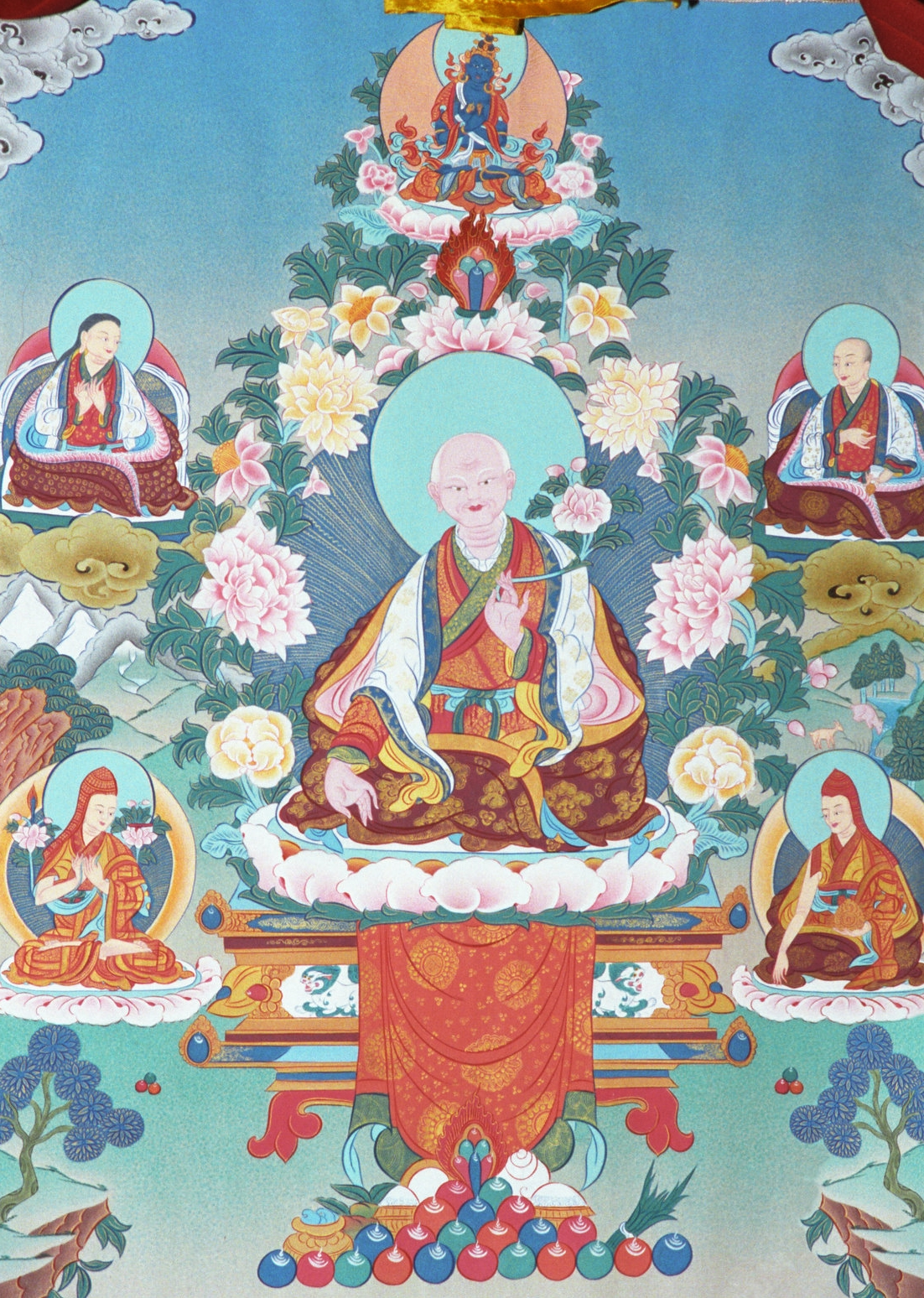 The Five Founding Fathers of Sakya