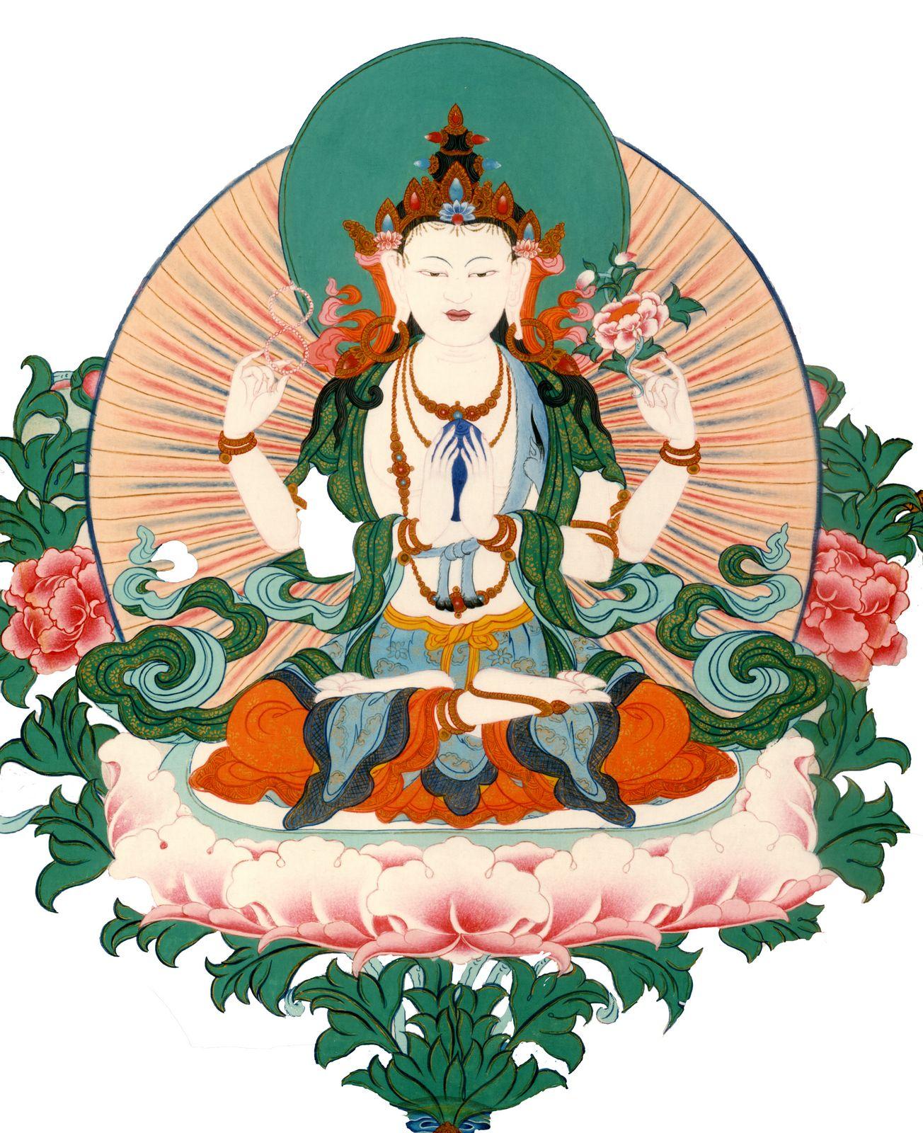 Chenrezik - the Bodhisattva of compassion