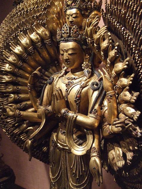 1000-armed Avalokiteśvara: Buddha's compassion