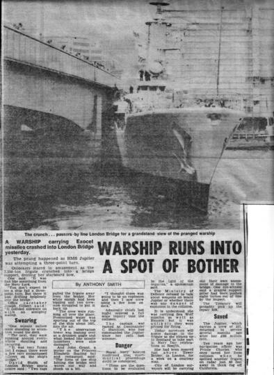 London Bridge Newspaper