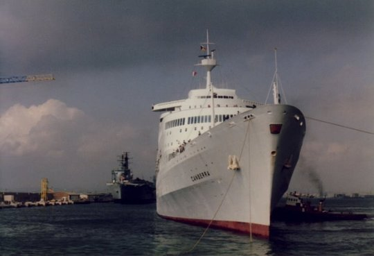 Gibraltar: Invincible and Canberra