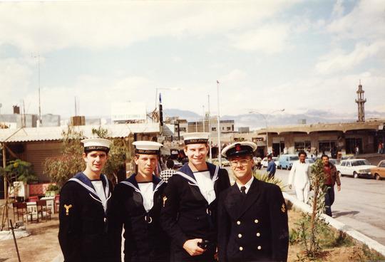 Aqaba Run ashore 1986